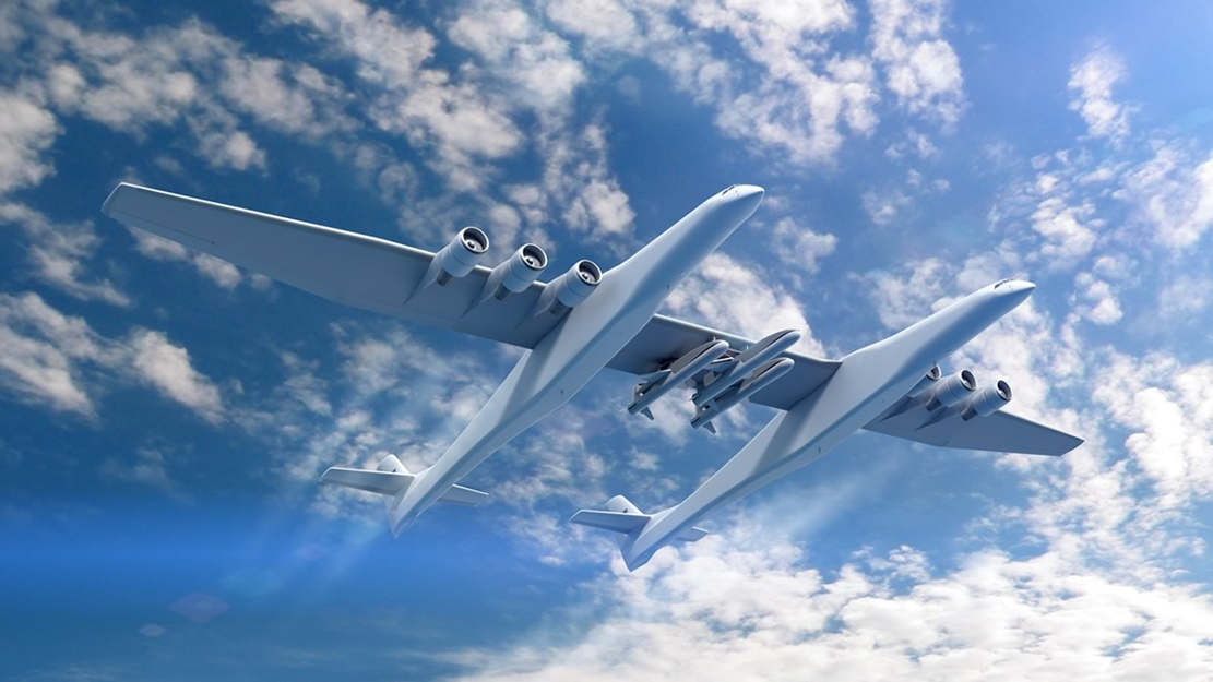 Stratolaunch - world's Largest Airplane (1)