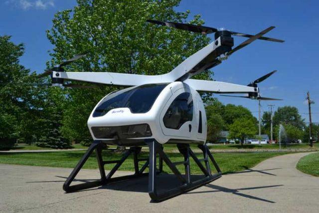 SureFly - a new Hybrid air taxi