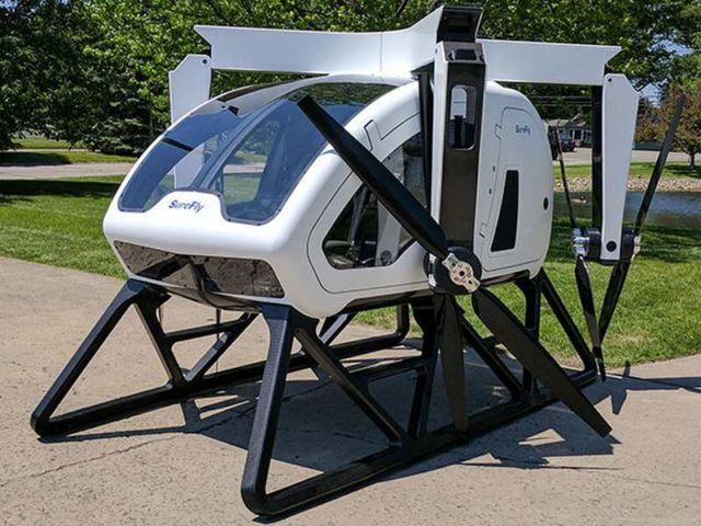 SureFly - a new Hybrid air taxi (2)