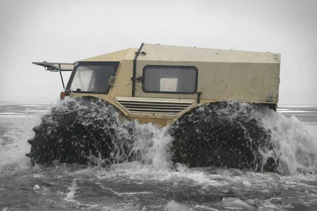 The Sherp ATV amphibious vehicle (5)