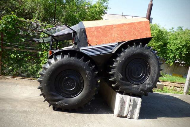 The Sherp ATV amphibious vehicle (4)