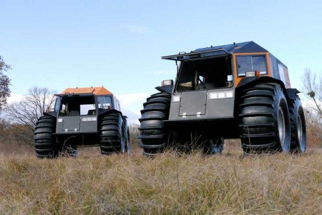 The Sherp ATV amphibious vehicle (3)