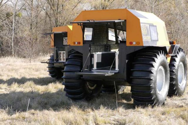The Sherp ATV amphibious vehicle (2)