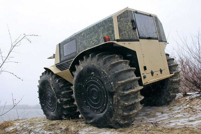The Sherp ATV amphibious vehicle (1)