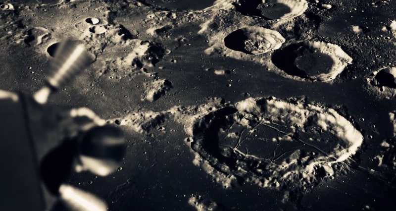This stunning video recreates the Moon Landing