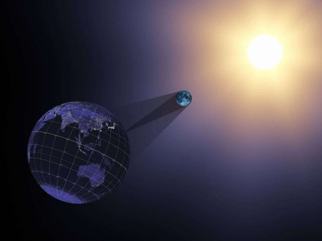 Visualization of the August 21 Total Solar Eclipse