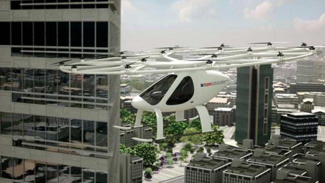 Volocopter as an Autonomous Air Taxi in Dubai