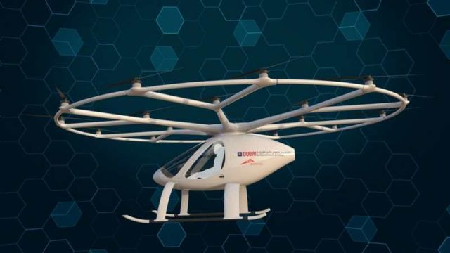 Volocopter as an Autonomous Air Taxi in Dubai (3)