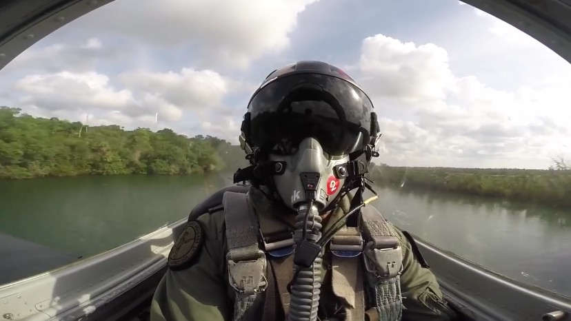 Watch this Extreme Low Level Flight