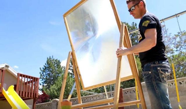 Will the Solar Scorcher Light Thermite