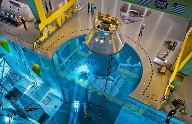World's first Commercial Space and Deep Sea center
