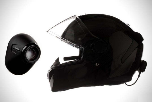 Zona rear-view system for motorcyclists