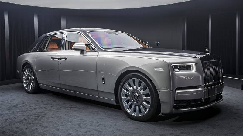 2018 rolls royce phantom viii wordlesstech. Black Bedroom Furniture Sets. Home Design Ideas
