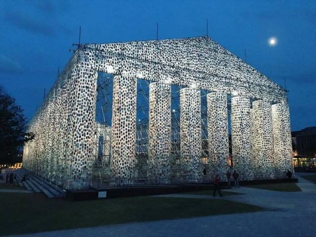 The Parthenon of Books in Kassel, Germany