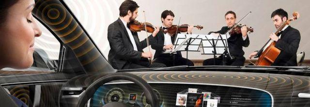 Continental Ac2ated innovative car audio technology