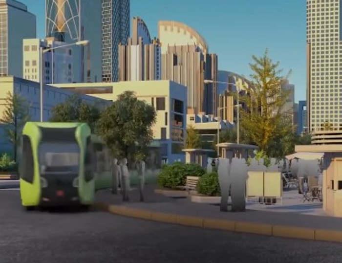 Driverless train can run on Virtual Rails