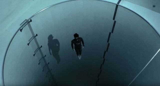 Exploring the deepest pool in the world