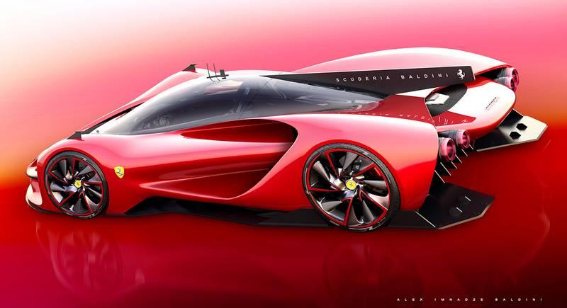 Ferrari P3 Scuderia Baldini Wordlesstech