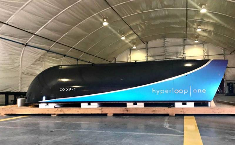 First successful Hyperloop full systems test