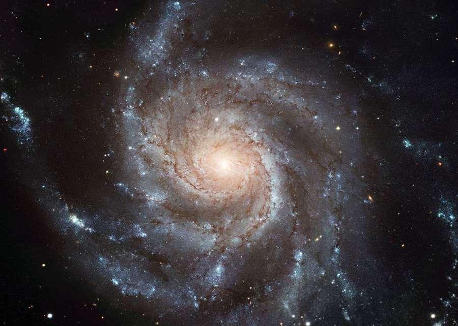 the Pinwheel Galaxy, NGC 5457