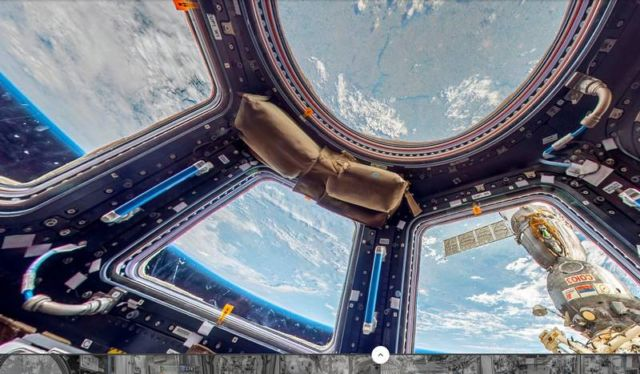 Space Station in Google Street View