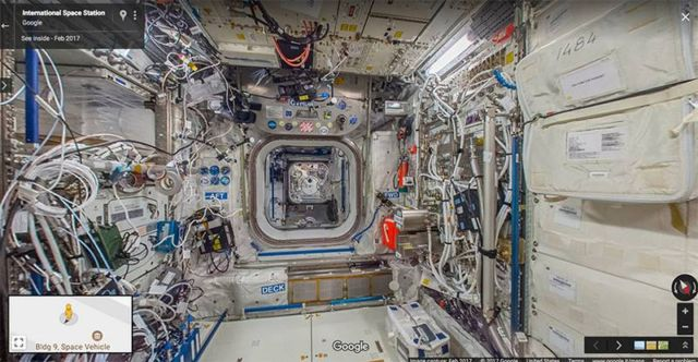 Space Station in Google Street View (2)