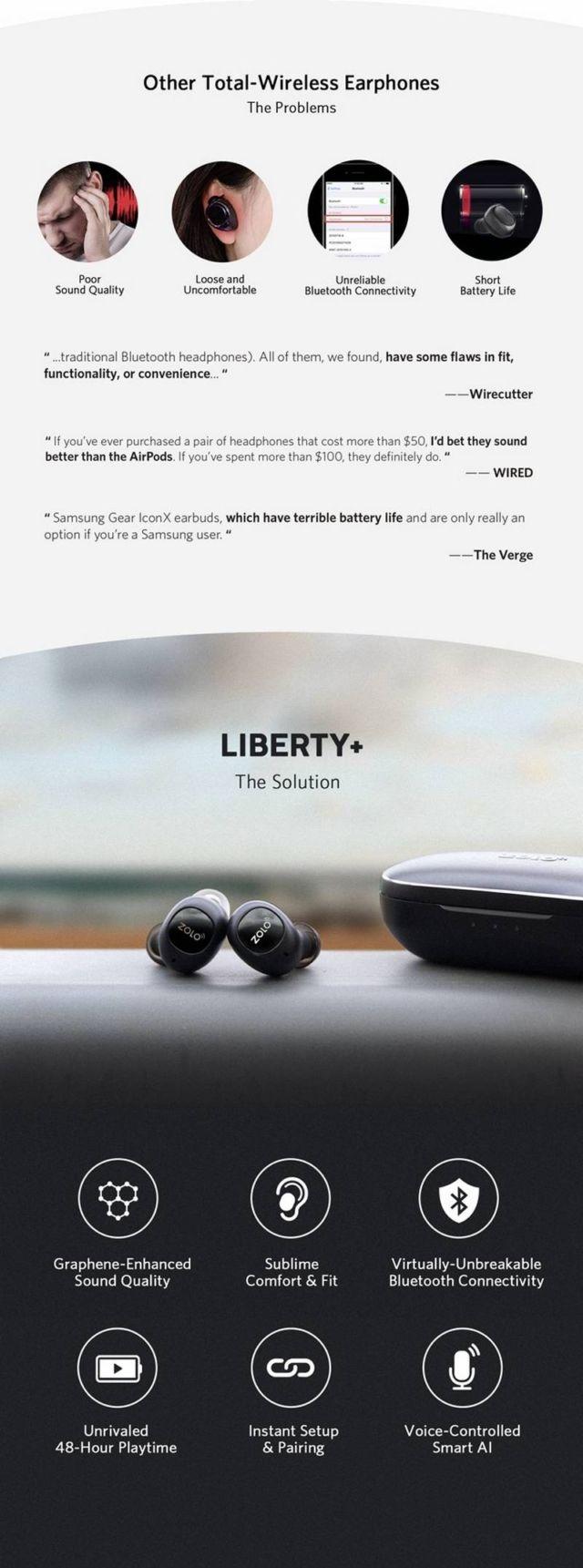 Liberty+ Wireless Earphones (4)