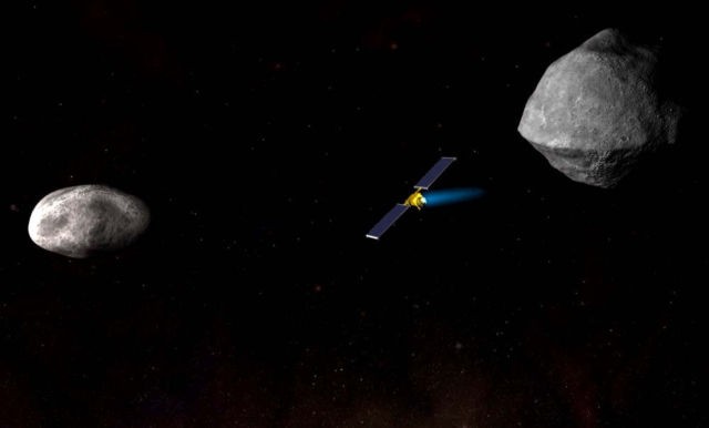 NASA's Asteroid Deflection Test Mission