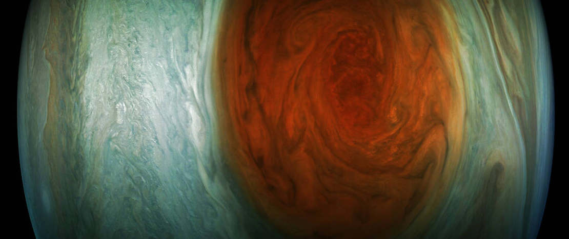 NASA's best look yet at Jupiter's Great Red Spot (1)