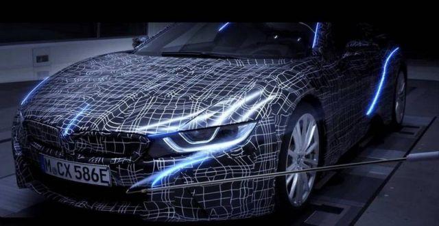New BMW i8 Roadster
