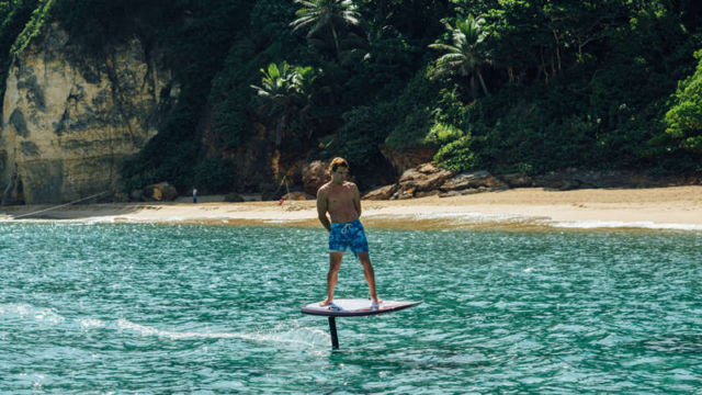 New Flying Surfboards can fly over water