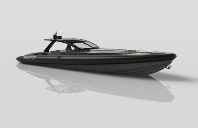 Pirelli 1900 super RIB speedboat