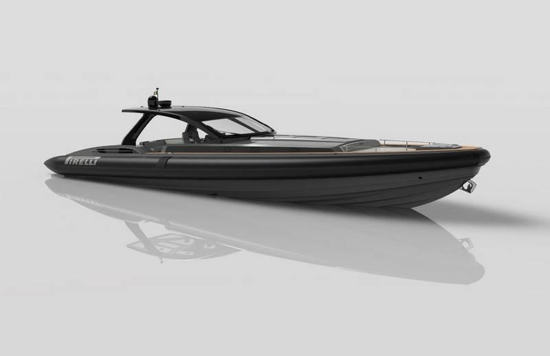 Pirelli 1900 super RIB speedboat (4)