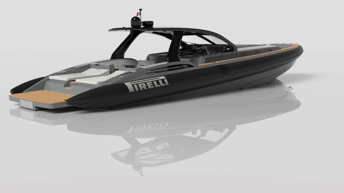 Pirelli 1900 super RIB speedboat (1)