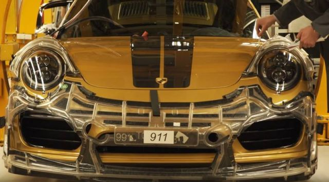 Production process of the 911 Turbo S Exclusive Series