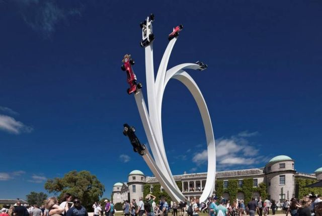 Sculpture for Goodwood Festival of Speed 2017