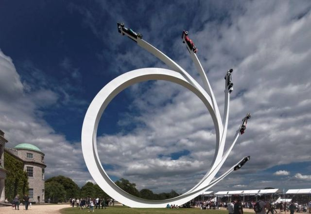Sculpture for Goodwood Festival of Speed 2017 (3)
