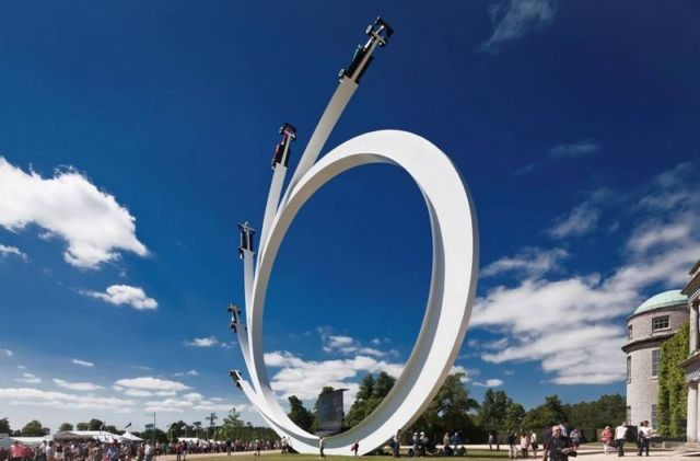 Sculpture for Goodwood Festival of Speed 2017 (2)