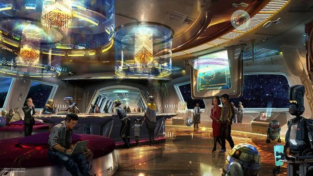 Star Wars-Inspired Themed Resort at Walt Disney World
