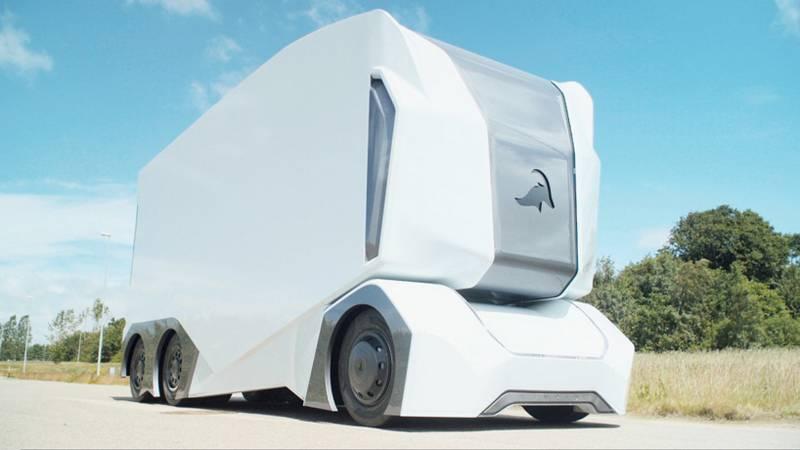 T-pod electric self-driving vehicle