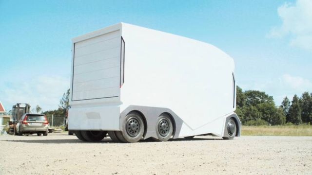 T-pod electric self-driving vehicle