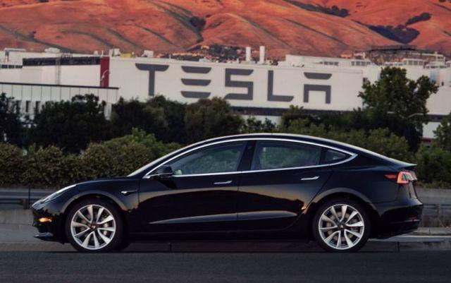 Tesla first Model 3