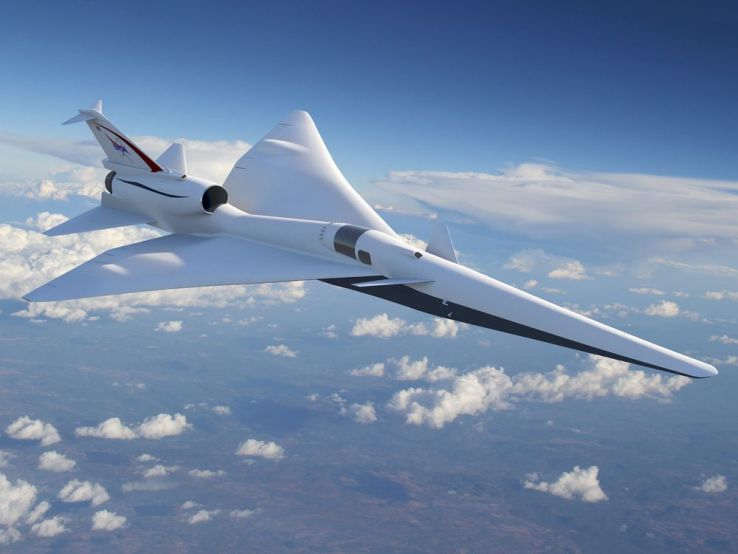 The new NASA Supersonic Plane