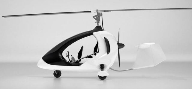 Twistair Two-Seater Tandem Gyro-Copter (10)