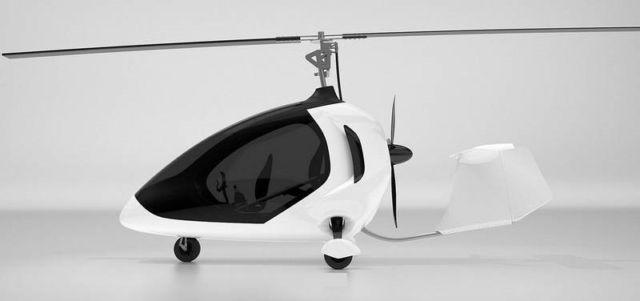 Twistair Two-Seater Tandem Gyro-Copter (8)