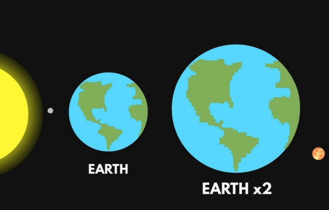 What If The Earth Were Twice As Big