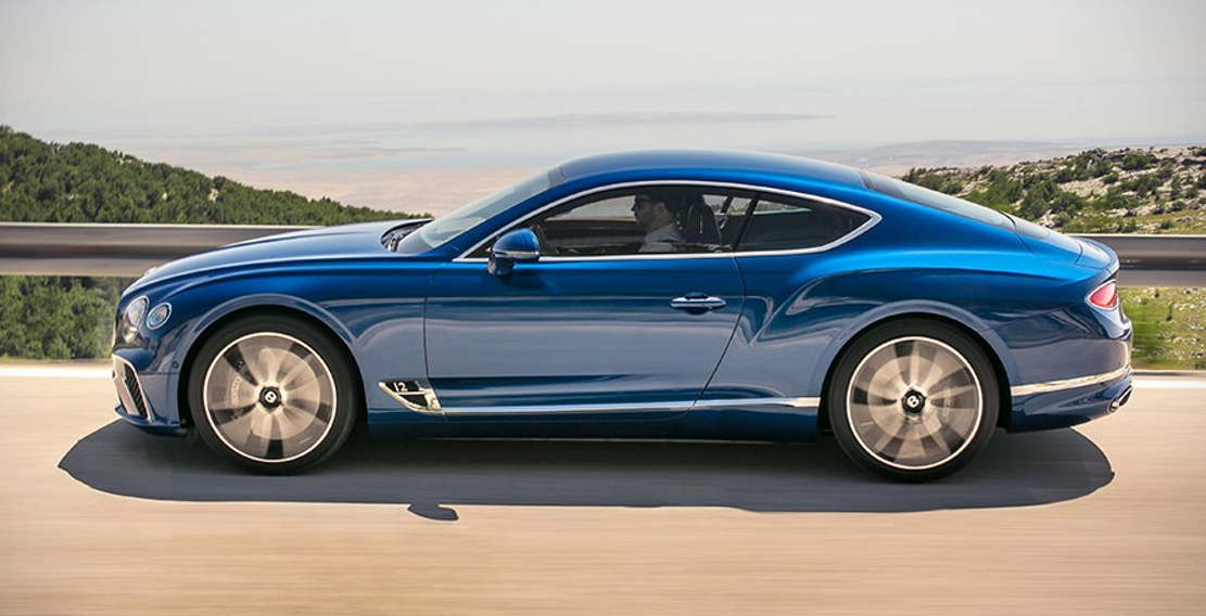 2019 Bentley Continental GT (1)