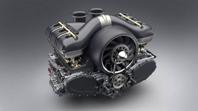 Porsche 911 engine by Singer and Williams (5)