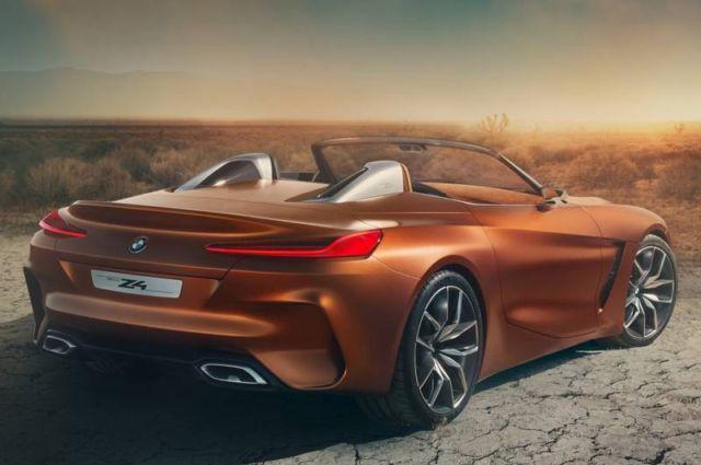 BMW Concept Z4 convertible