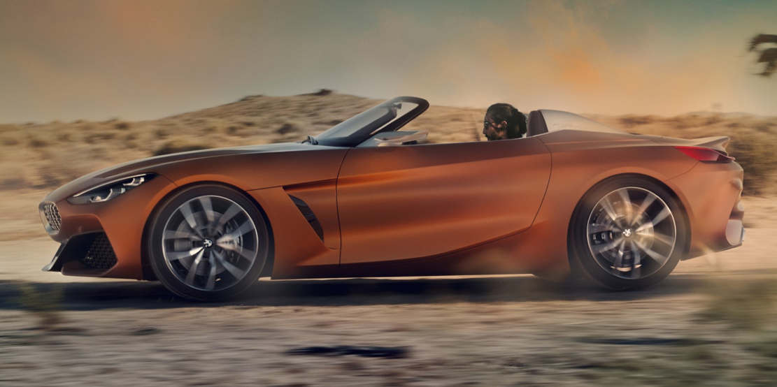 Wordlesstech Bmw Concept Z4 Convertible